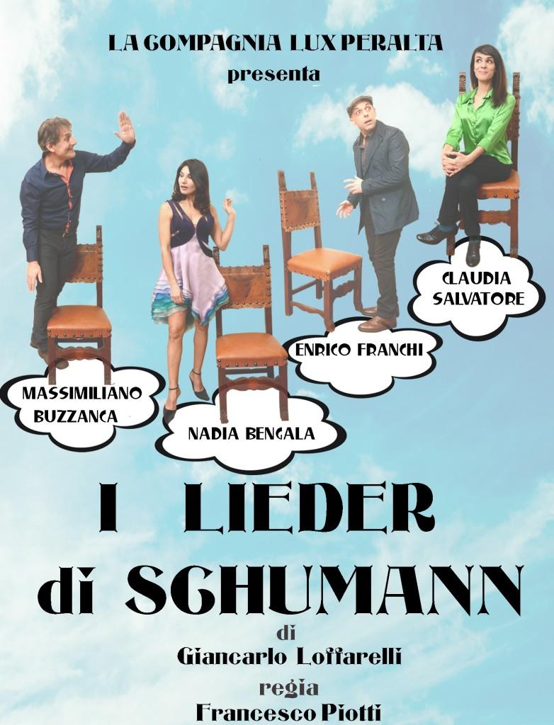 locandina lieder di Schumann