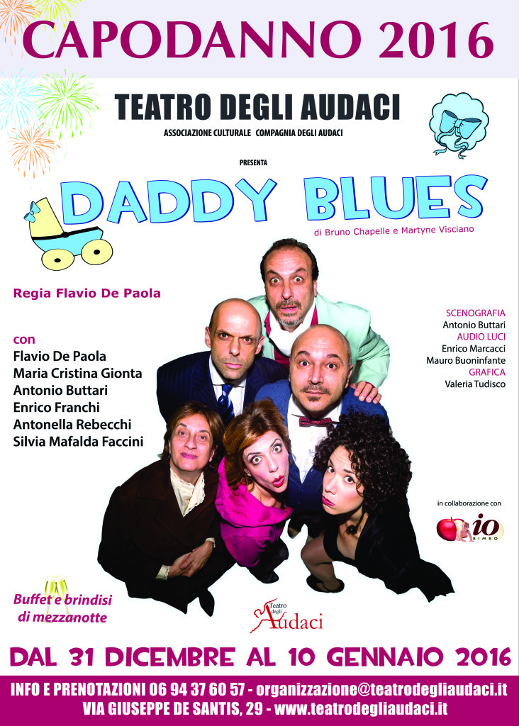 daddy blues 50x70 capodanno